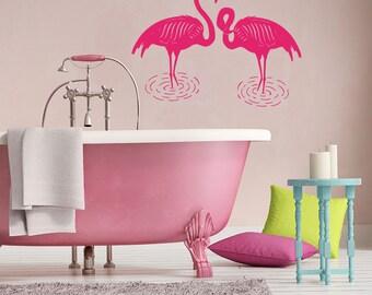 Flamingo Bathroom Etsy