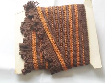 Brown and Orange trim