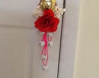 Your a Rose Doorknob Hanger, Doorknob Hanger, Valentine's Door Decor, Valentine's Decorations, Jingler, Door Decor