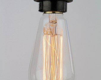 Portland Bill : Squirrel Cage Edison Light Bulb E27