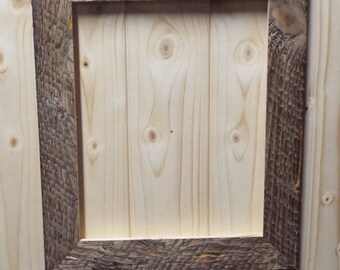 8x10 4 Piece Rustic Barn Wood Style Picture Frame