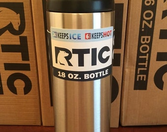 Custom Etched RTIC 18oz Bottle