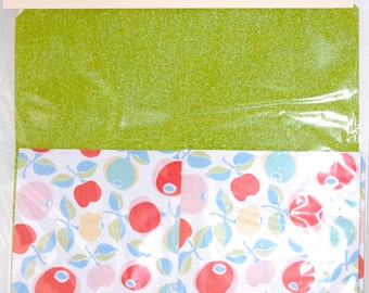 Make your own Notebook Kit bookbinding craft green