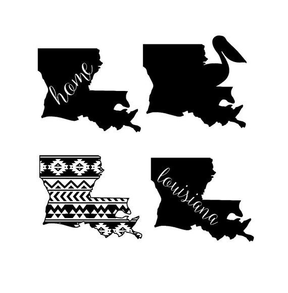louisiana state designs SVG and studio files by ...