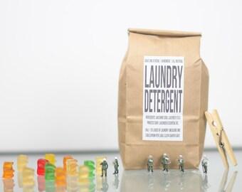 Laundry Detergent, Cloth Diaper Safe Laundry Detergent, All Natural, Baby Detergent, Sensitive Skin Detergent, Vegan Laundry Detergent,
