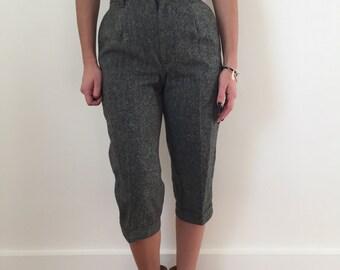 Vintage L.L. Bean Wool Capris Pants