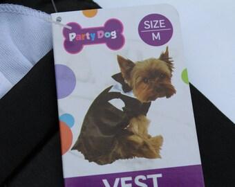 Dog Tuxedo - small dog tuxedo vest