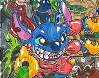Stitch - Guardian of the Galaxy