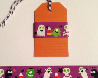 "30"" Ghost Monster Halloween Washi Tape Sample"