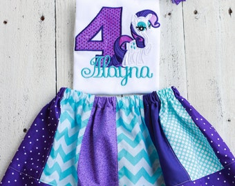 Rarity birthday shirt personalized
