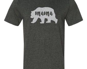 Mama Bear Shirt - Momma Bear T Shirt, Mom Shirts, Mom Life, Shirts for Moms