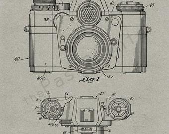 Camera Printable   Photography   Camera Art   Camera Print   Camera Poster   Camera Decor   Patent   Patent Print   Photographer Gift   Gift