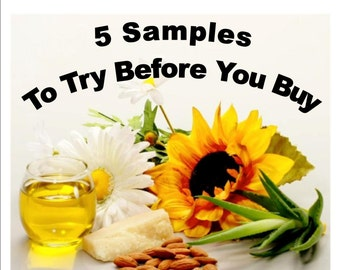 5 product samples
