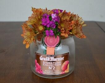 Grand Marnier Glass Jar, Cannister, or Vase
