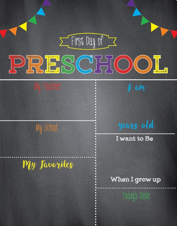 Simplicity image pertaining to printable first day of school sign
