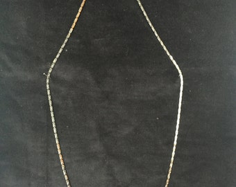 Vintage Napier silvertone chain