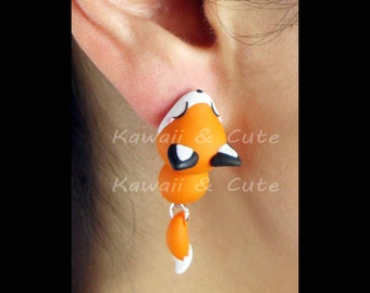Earrings Fox Ear Biting