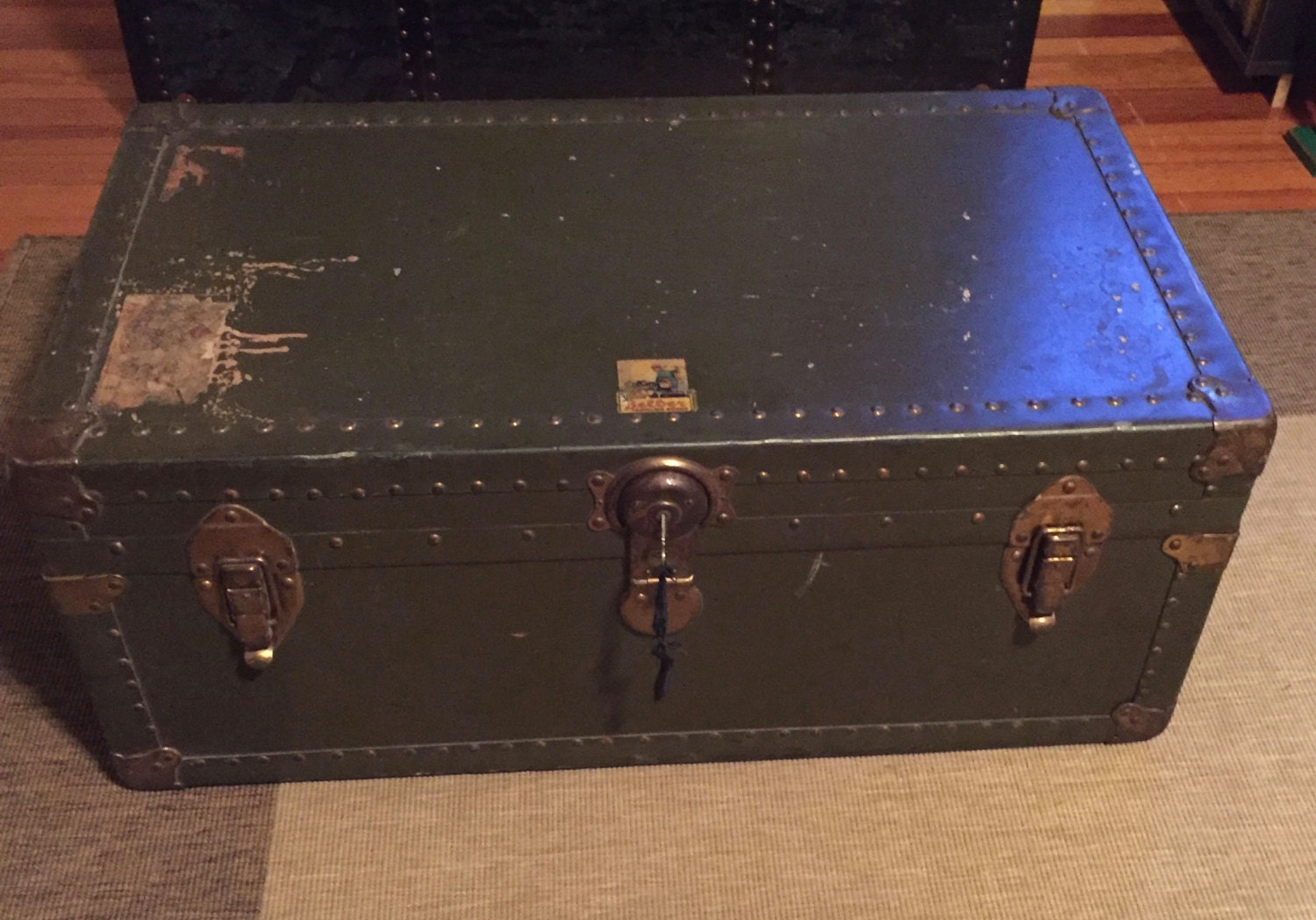 Vintage Home Decor Steamer Trunk Early 1900 39 S 39 S
