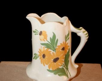1970s Clinchfield Artware Creamer/Tricentennial Hand Painted Creamer South Carolina//Vintage artware made in Erin, TN