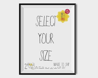 Made to ship poster, Professional print, Wall art poster, Home decor, Delivered wall art, Packaged print, 2eggsProject, MADE TO SHIP
