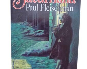 Saturnalia Hardcover Paul Fleischman Signed 1990 Book