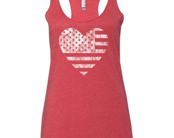 4th of July Shirt Women. 4th of July. Patriotic Tank. USA Shirt. USA Tank. July 4th Tank. Flag Tank Top. Graphic Tee. July 4th Tee.