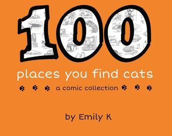 """Book: """"100 places you find cats"""""""