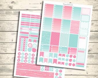 Weekly Kit, MAMBI HAPPY Planner Printable Planner Stickers weekly, Mambi weekly Stickers, Spring May Weekly Kit Pdf + Jpg