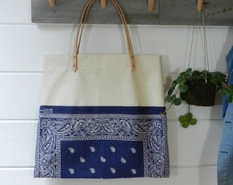 SALE Bandana Weekend Tote