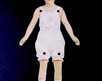 "Darling Vintage Articulated Paper Doll ""Betty"" by Dennison"