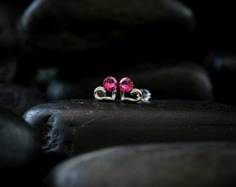 Sweet Romantic - Swarovski Crystal earrings finished in lustrous Rhodium finish