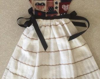July 4th Dish Towel Dress