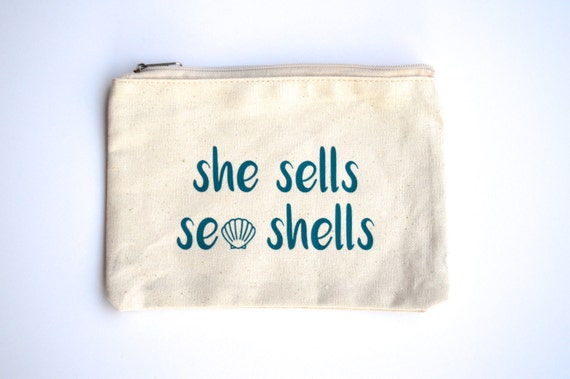 She Sells Sea Shells, Makeup Bag