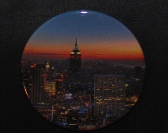 New York City - Button Pin - H-C10010