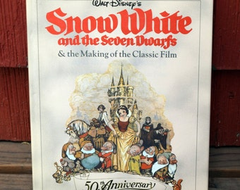 Walt Disney's Snow White and the Seven Dwarfs & the Making of the Classic Film/50th Anniversary/Richard Holliss and Brian Sibley/Hardcover