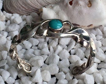 Arabesque bangle Turquoise