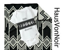 Little Dreamer, Moon Baby, Moonphase, Baby outfit, Hipster Baby, Gender Neutral Baby Clothes, One piece for: baby girl, Baby boy