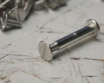 "1"" Aluminum Binding Posts for Scrapbooks - 70 Pieces"