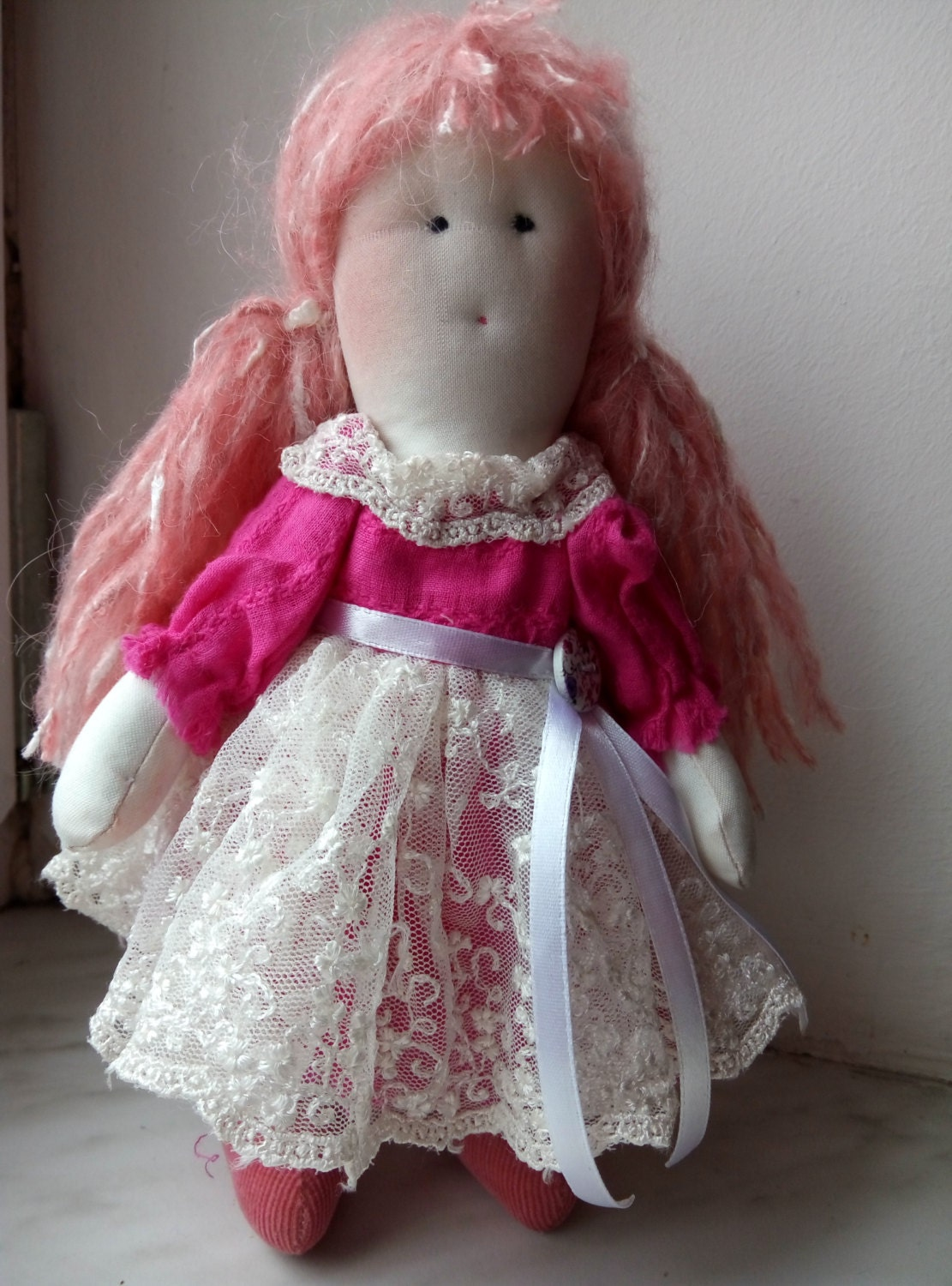 mini doll baby shower gift doll fabric doll rag by mimihouseua