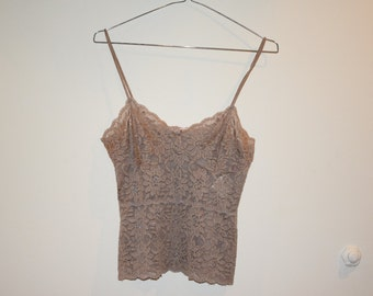 Light Brown Lace Top