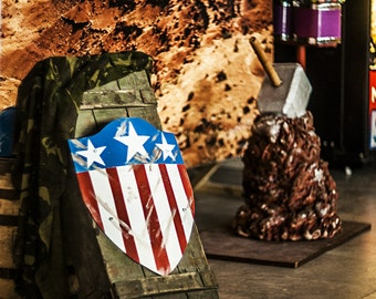 Captain America shield First version