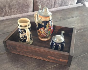 "Rustic Serving Tray 16.5"" x 12"" x 3.5"""