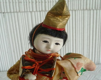 Geisha Doll from Japan ... Vintage Japanese Dancing - Musical  Doll in Kimono !