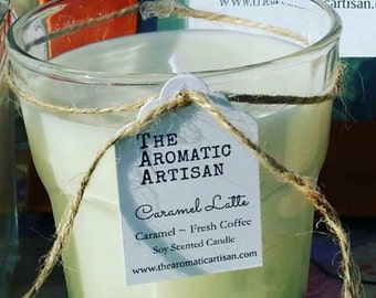 Latte Candles