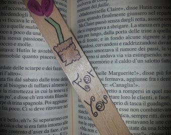 Bookmark Heart Quilling