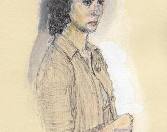 Study of Maria Pia Casilio