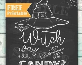 FREE Printable, Halloween Printable, Free Download with Purchase, Free Halloween Printable, Free Halloween Print, Halloween Party Decor