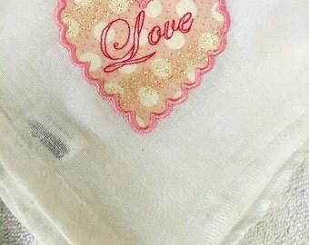 Heart Flour Sack Towel