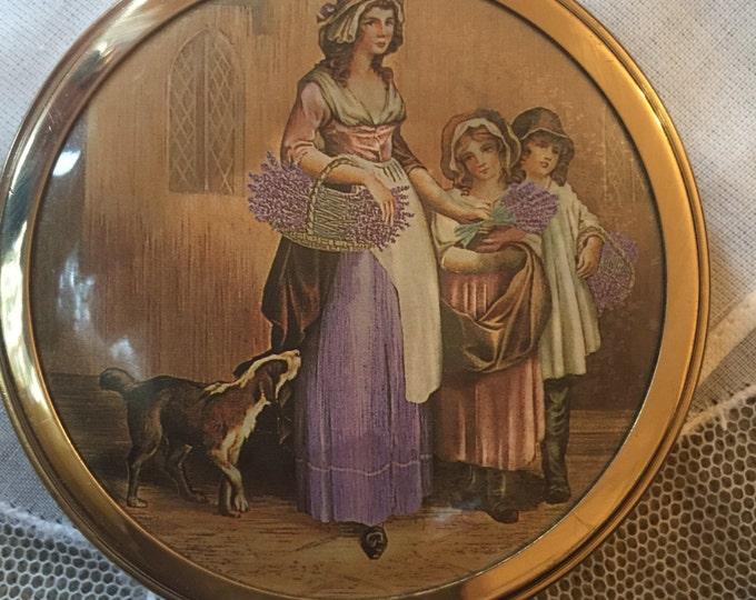 Revlon Vintage Scene Powder Compact
