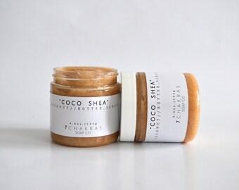 Coconut and Shea, Vanilla Sugar Scrub, Natural, Vegan